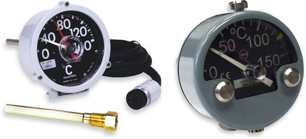 QUALITROL 165/167和AKM 47080侧面安装式测温仪