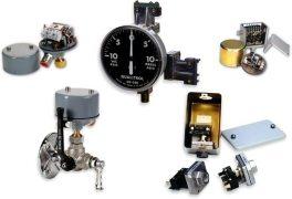 Qualitrol 141,146,148 and AKM 35600, 47500 pressure control gauge