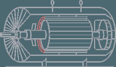 定子端部绕组震动监测